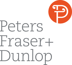 Peters, Fraser and Dunlop Logo